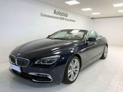 usata BMW 650 Cabriolet Serie 6 i