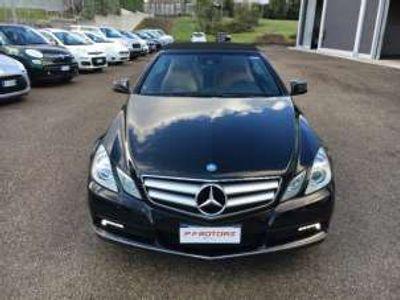 usata Mercedes E250 CDI Cabrio BlueEFFICIENCY Avantgarde