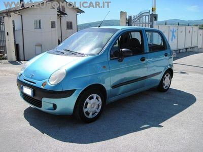 usata Chevrolet Matiz 800i cat SE City Metano