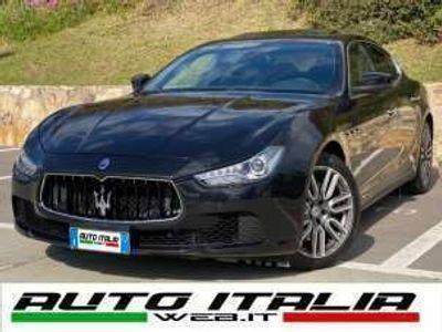 usata Maserati Ghibli V6 DIESEL NO SUPERBOLLO+TETTO+F1+TAGLIANDI+CARPLAY Diesel