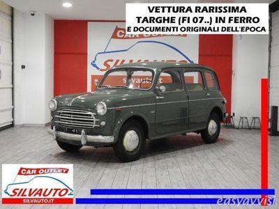 usado Fiat 1100 103 familiare i^ serie con strapuntini 6posti benzina