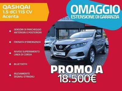 usata Nissan Qashqai 1.5 dCi 115 CV Acenta