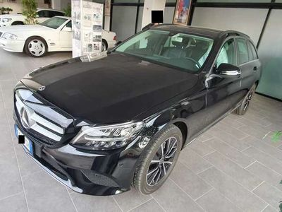 usata Mercedes C200 D 160CV AUTO E6D-TEMP SS BUSINESS EXTRA SW (NAVI)