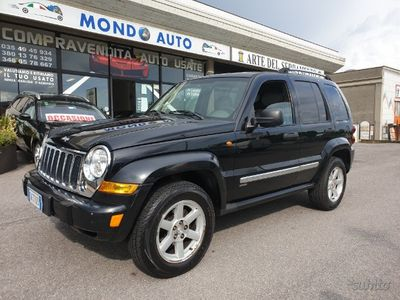 used Jeep Cherokee 2.8 CRD Limited 4X4 AUTOMATICO PELLE
