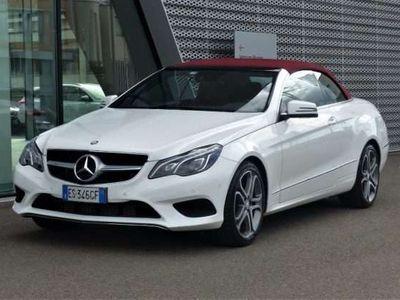 usata Mercedes E220 CDI Cabrio Executive