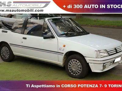usata Peugeot 205 1.1i cat Cabriolet CJ Unicoproprietario