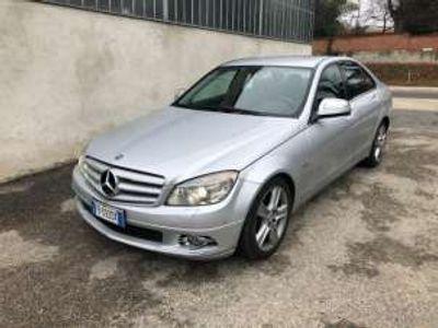 usata Mercedes C320 CDI 4MATIC AVANTGARDE BERLINA NAVI AUTOMATICO XENO