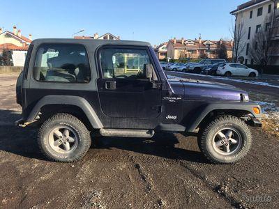 usado Jeep Wrangler tj 4.0