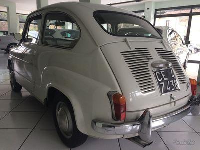 brugt Fiat 600D 1964, Perfetta, iscritta ASI