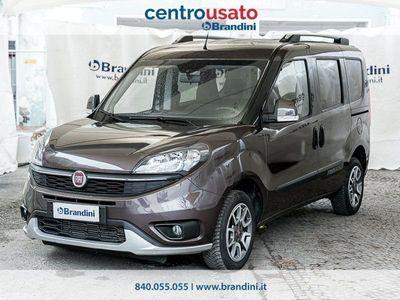 usata Fiat Doblò Doblo II 2015 doblo 1.6 mjt 16v Trekking 120cv my18