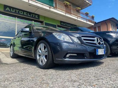 usata Mercedes E220 Coupé Cdi BlueEfficiency Euro5 Navi Cruise PDC