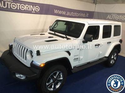 begagnad Jeep Wrangler Unlimited Wrangler Unl.JL 2.2 Mjet II 200CV Sahara 4WD A8