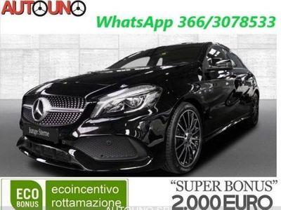 brugt Mercedes 180 180 Premium AMG + BI-LED + NAVYPremium AMG + BI-LED + NAVY