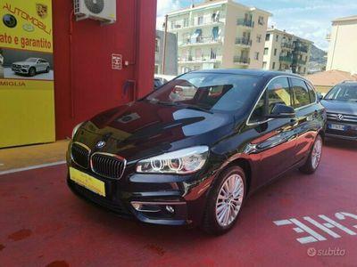 usata BMW 218 Serie d manuale navi LED telecamera - 2015