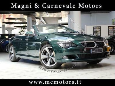 usata BMW 635 Cabriolet - UFFICIALE ITALIA - CRONOSERVICE