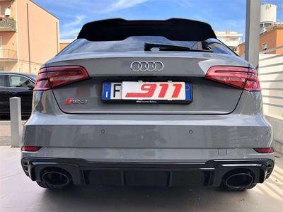 "usata Audi RS3 SPB 2.5 TFSI quattro S tronic Scarichi 19"" Pelle"