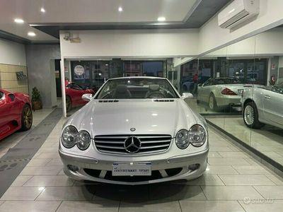 usata Mercedes SL500 cabrio tenuta perfettamente