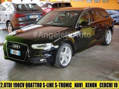usata Audi A4 Avant 2.0 TDI 190 CV Quattro S-line S-Tronic
