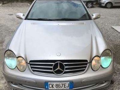 usata Mercedes CLK270 CDI cat Elegance