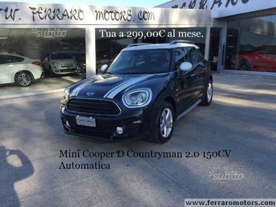gebraucht Mini Cooper D Countryman 2.0 Automatica solo 23.000km