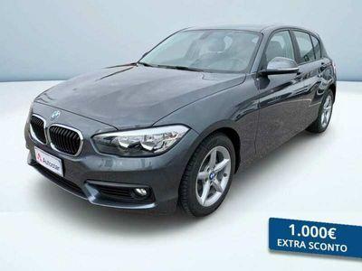 usata BMW 118 SERIE 1 (5 PORTE) d Advantage 5p auto