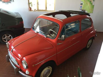 usata Fiat 600D 770-versione unica tedesca/nsu-anni 60-