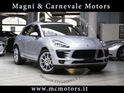 usata Porsche Macan UFFICIALE ITALIA - TETTO - RADAR - FULL OPZ -