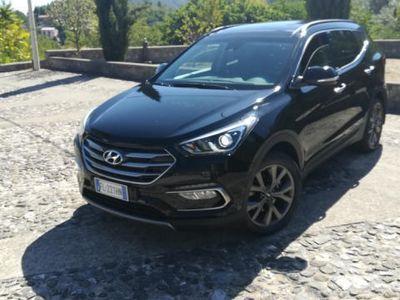 usata Hyundai Santa Fe 2.2 CRDi 4x4 200Cv Autom-Tetto-Navi-1Proprietario