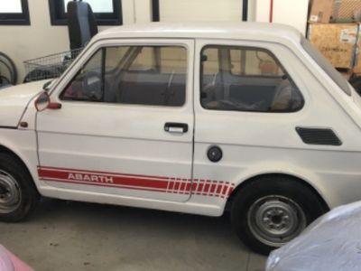 käytetty Fiat 126 abarth 1981 ISCRITTA ASI