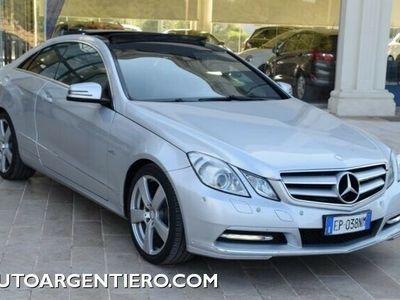 usata Mercedes E220 CDI Coupé BlueEFFICIENCY