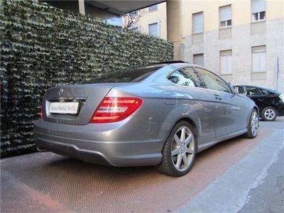 usata Mercedes C220 CDI Coupé Avantgarde - pacchetto AMG - automatica