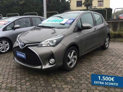 usata Toyota Yaris 2015 1.5 hybrid Active 5p