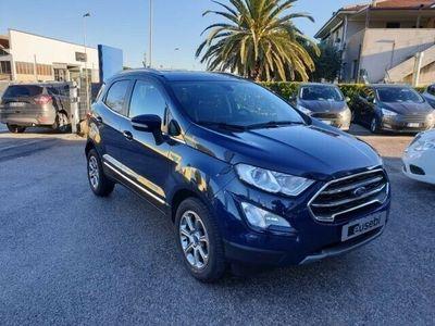 usata Ford Ecosport 1.0 EcoBoost 125 CV Start&Stop Titanium del 2019 usata a Fano