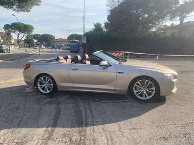 usata BMW 640 Cabriolet Serie 6 (F12/F13) Futura