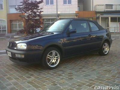 usata VW Golf Cabriolet 1.6 cat sport benzina cabrio manuale blu