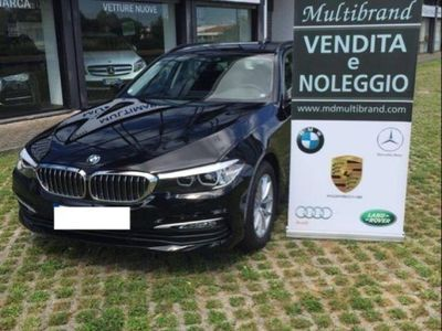 usata BMW 520 520 d Touring navi prof + teleca + gancio