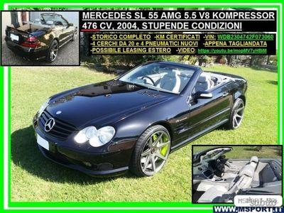 usata Mercedes SL55 AMG ClasseAMG KOMPRESSOR 476cv - 2004