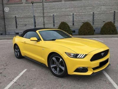 brugt Ford Mustang 3.7 V6 convertible anno 2016