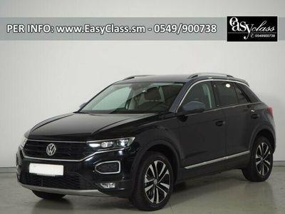 """usata VW T-Roc 1.5 TSI DSG ACT IQ.DRIVE NAVI ACC 17"""" LED"""