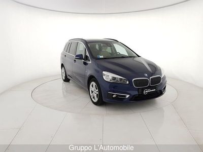usata BMW 218 d gr.tourer Luxury 7p.ti auto