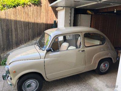 käytetty Fiat 600D (cilindra750) - Anni 60