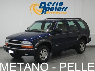usata Chevrolet Blazer 4.3 V6 5 porte 4WD LT Metano
