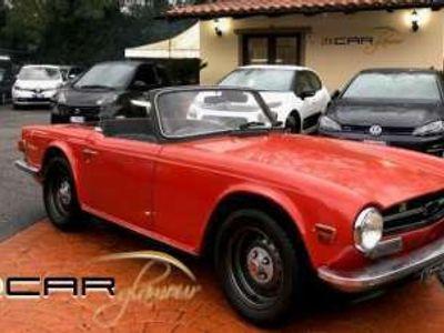 usata Triumph TR6 TR6ITALIANA CONSERVATA LIBRETTO E TARGHE ORIGINAL Roma