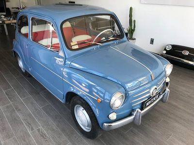 second-hand Fiat 600D sport. controvento libret. targa originali benzina