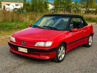usata Peugeot 306 Cabriolet 1.8i cat ASI CRS GOMME NUOVE TAGLIANDATA