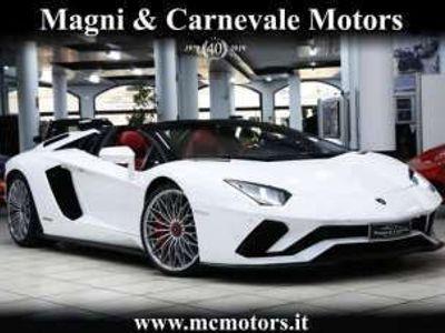 usata Lamborghini Aventador S ROADSTER|LIST PRICE 439200|GLASS BONNET|SENSONUM Benzina