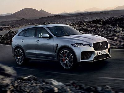 used Jaguar F-Pace 2.0 D 240 CV AWD aut. Chequered Flag