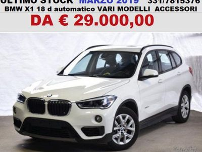 usado BMW X1 d aut varie new demo