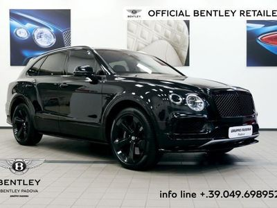 usata Bentley Bentayga W12 Blackline