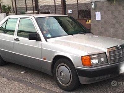 usata Mercedes 190 GPL (1992 registro storico)